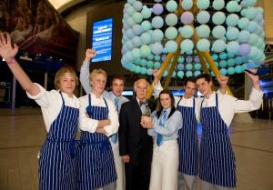 Devon College receive Nestle Toque d'Or from Anton Mossiman