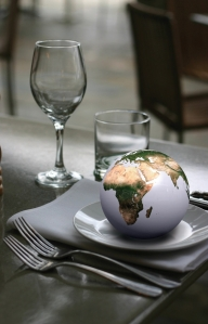 Earth on a plate LR